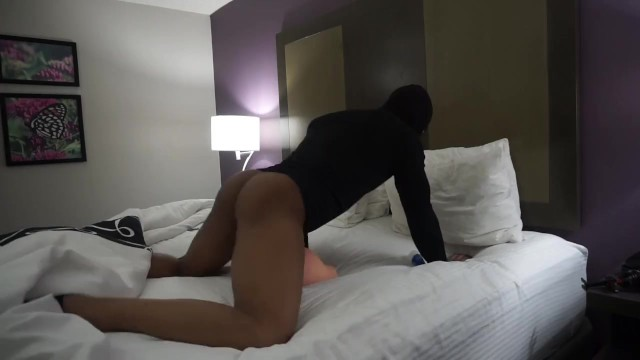 black dick fucking sex doll