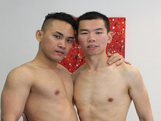 Aussie asian college jocks homemade domestic chores before...