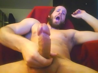 Cumslut edging watch this femboy become a whore...