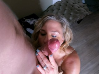 I blew my stepson and he surprised me with a HUGE CUMSHOT – YourPervySage ft. 50shadesofdivorcee