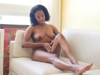 Ebony foot fetishs red nails toe creampie...