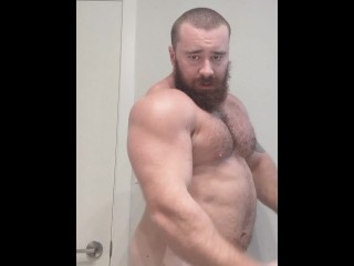 Before shower hairy hung cock bull cocky...