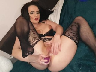 Anal games of hot emili aliston with two...