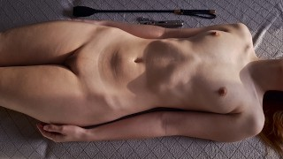 Her Pussy Gets Very Wet From Sex Toy Play And Stack