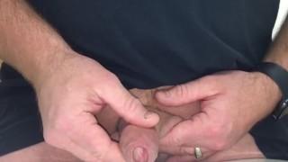 full with bladder masturbation Faucet