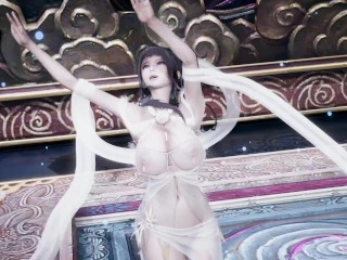 [MMD] 半壶纱 Sexy Chinese Traditional Dance Uncensored 3D Erotic Dance