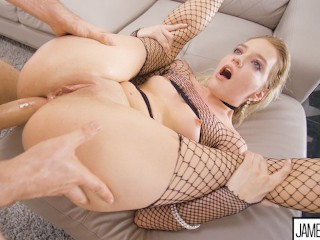 KENNA JAMES IN THE MOST HARDCORE ANAL SHOOT SHE HAS EVER DONE drunk sex tube
