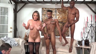 Gwen Vicious' stepdad Invites Black Men To Do Anal With Her