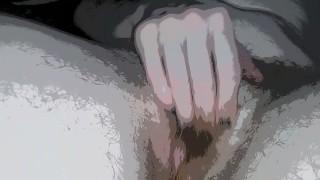 Trans Man Hairy Clit Worship, Nipple Massage, Animation