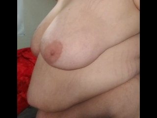Fat belly bbw lingerie naked tits shake smack...