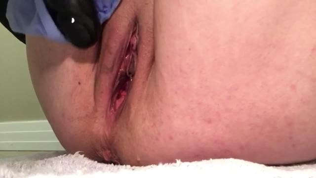 GIRL TRIES TAKING 12 INCH BBC DILDO 11