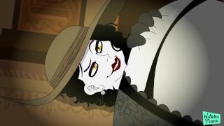 Resident Evil Village: Tall Vampire Maiden Alcina Dimitrescu Parody Animated