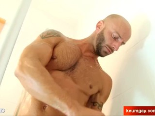 Big chest pecs this sport guy is so...