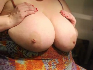 Titties bouncing and shaking them...
