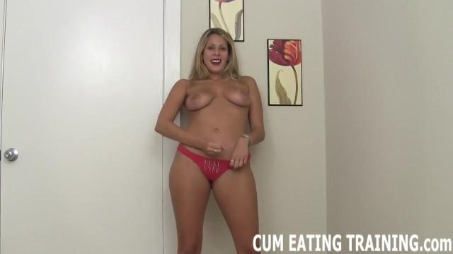 Femdom Cum Eating And CEI Domination Fetish Porn