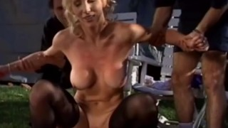 First Time Swinger Wife Gets Laid and A hard Deep Sex