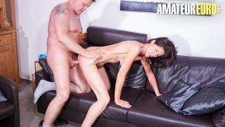 HausfrauFicken - Newbie German Mature Wild Pussy Fuck With Stranger - AMATEUREURO