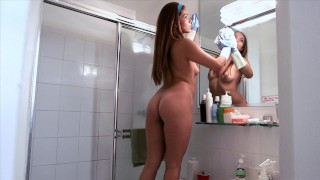 BANGBROS - Curvy Latin Maid Isabella Taylor Strips Down And Shows Us What She Working With