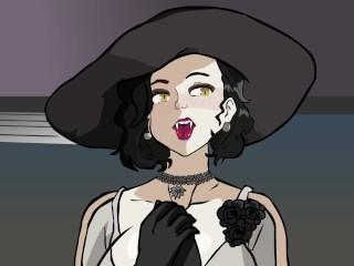 Resident evil village hentai milf lady dimitrescu and...