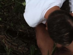 Czech Hunter 547 – Straight Czech Dude's First Gay Experience Is In The Forest