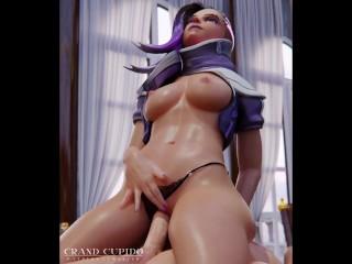 Sombra Amazing Sex Part 1 [Grand Cupido] (Overwatch)