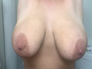 College MILF swinging bouncing giant tits SLO-MO-LusciousCass