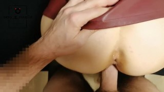 Getting my pussy fucked HARD and filled with cum!