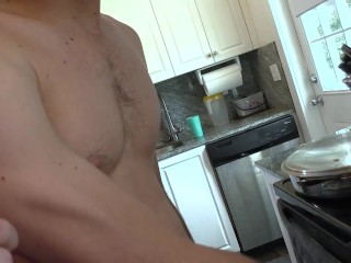 Gets both holes drilled n filled with cum...
