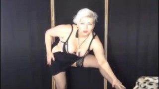 Prize striptease in open chat and followed by private of mature slutty bitch AimeeParadise .!. ))
