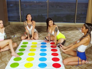 Twister orgy with brenna sparks wednesdaynyte giselle amore...