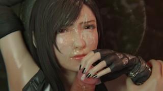 Final Fantasy Tifa Lockhart Experience The Ultimate In Oral Pleasure - BulgingSenpai