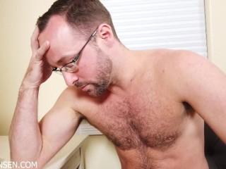 Alex hawks gay fantasies turn to bisexual reality...