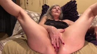 Mature MILF PAWG Soles Up Hot Pussy Play Anal Fingers, Dildo, Vibe Pt. 1