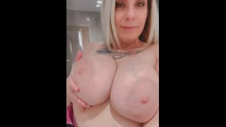 PAWG Snowie Violet is such a BIG TIT BIMBO OMG