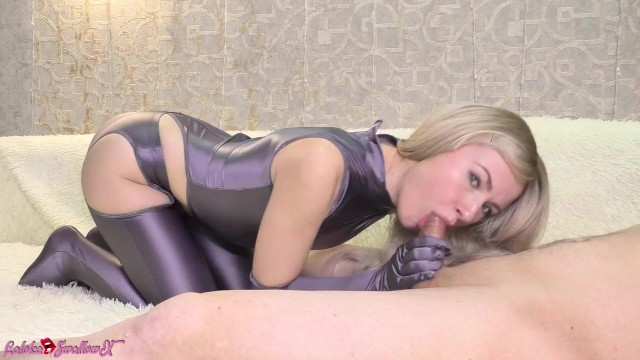 Sexy Blonde Deep Sucking Big Cock after Waking Up - Cum Mouth 13