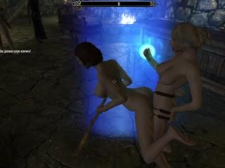 Binding sex games partners bdsm game 3d...