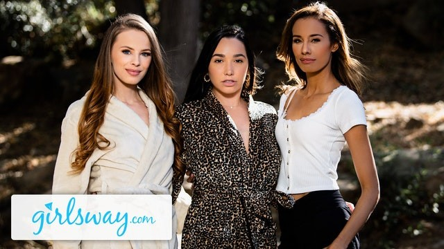 Girlsway Squirting Summer Threesome With Karlee Grey & Jillian Janson