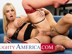 Naughty America - Rachael Cavalli gets fucked by her assistant!!