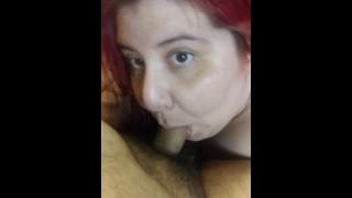Foxy Bbw Slave Sucking Daddy
