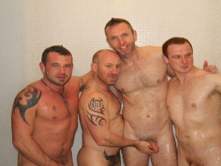 Downunder gay homemade amateur 4way group sex fuck...