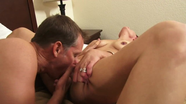 Old Hubby Fucks His Young Redhead Milf Wife On Sextape 4