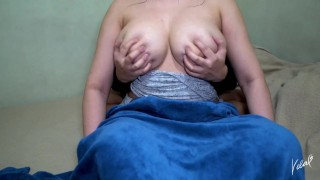 Playing with Some Big Pinay Tits