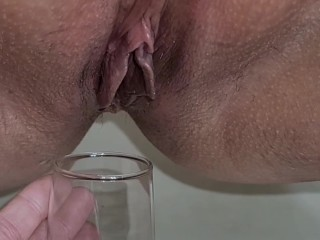 Glass and my juicy...