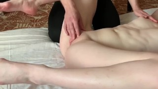 Like How he torturing my Clit with his Hands until my Orgasm Pussy fingering