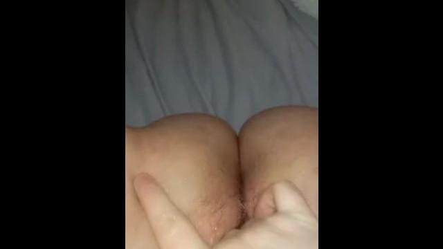 Touching my wet pussy until I cum 19