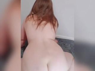 A Twerking PAWG. BBW with a fat ass