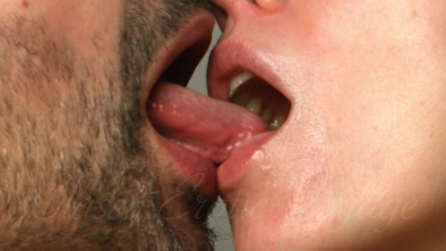 Softcore - Kissing celebrating Love - Saliva Fetish