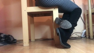 Shoeplay In Over The Knee Boots Trailer