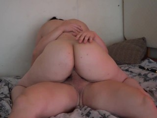 Beautiful pawg then oral creampie...