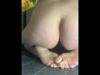 Slippery ass...